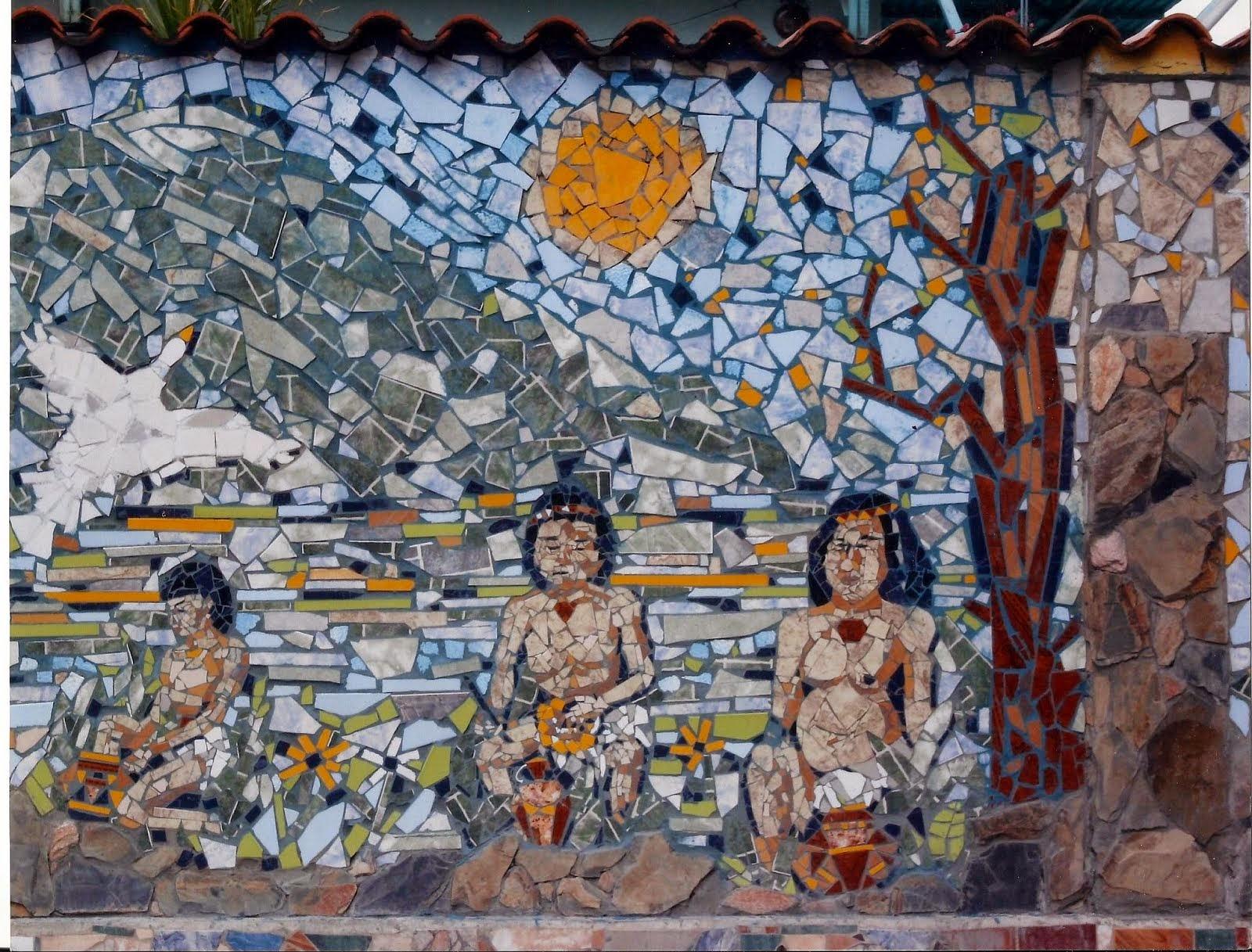 Mural Meregoto. (fragmento)