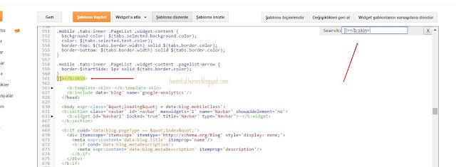 blog tasarım, şablon