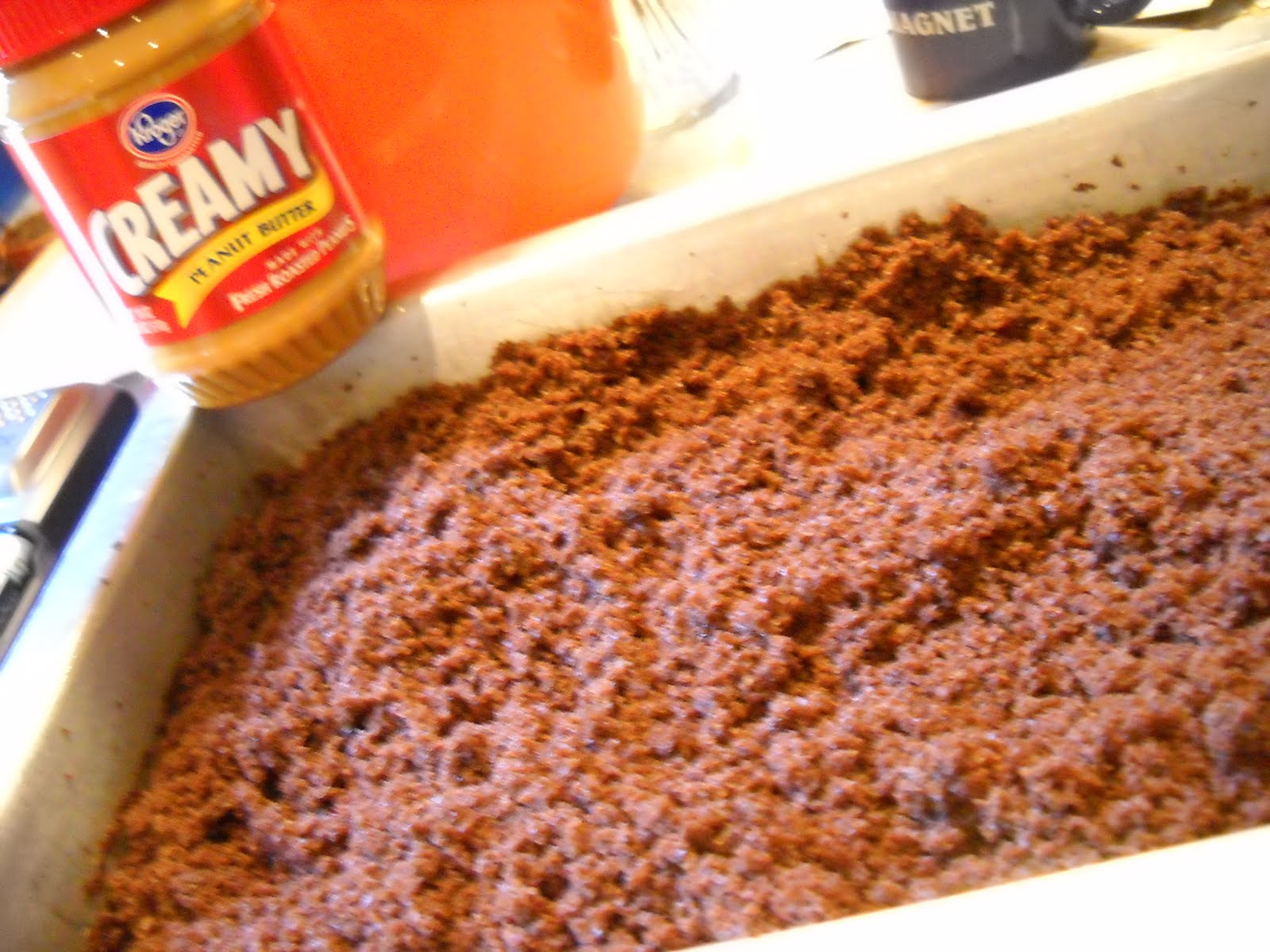 Peanut Butter And Chocolate Graveyard Dirt Cake Recipes — Dishmaps