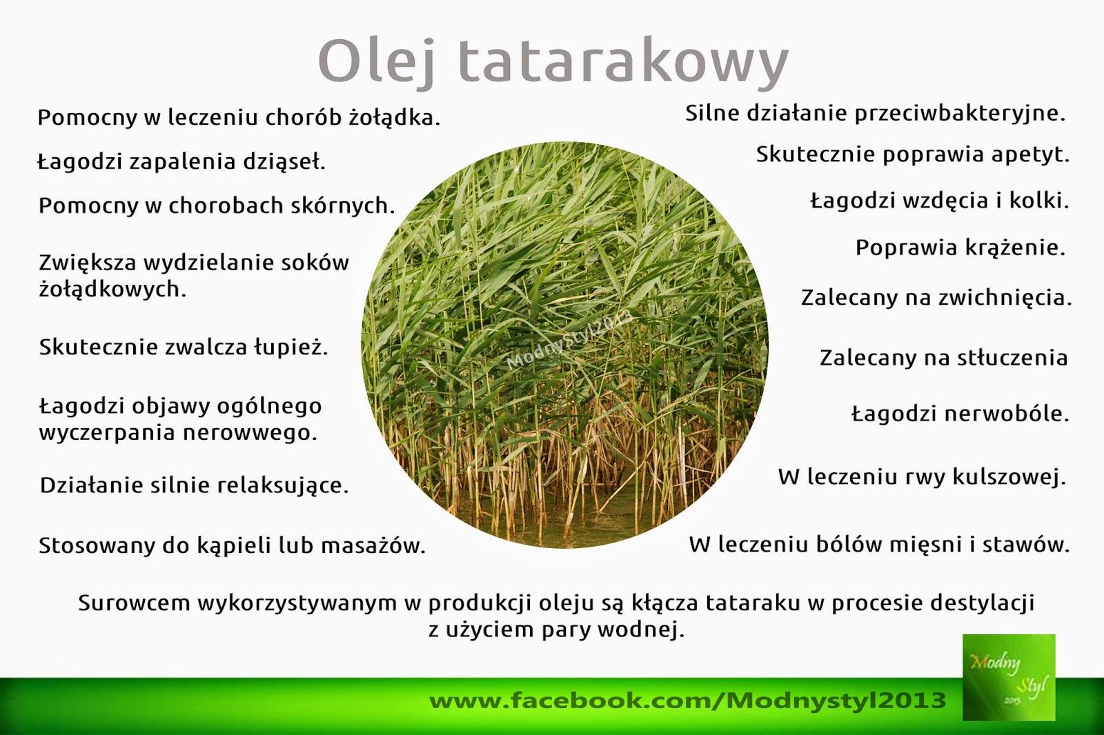 Olej tatarakowy