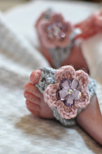 How To Crochet Baby Barefoot Sandals Vtwctr