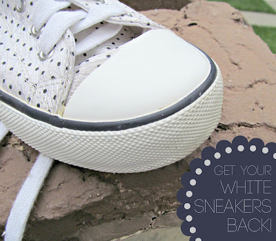Have an old pair of shoes that could use a cleaning? Check out this easy tip from It's Always Ruetten
