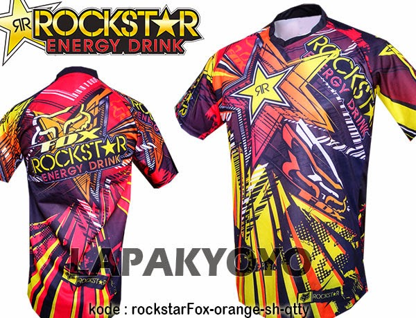 Jersey sepeda Fox Rockstar 2015