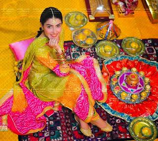 Ayeza khan & Danish Taimoor Mayun Pictures