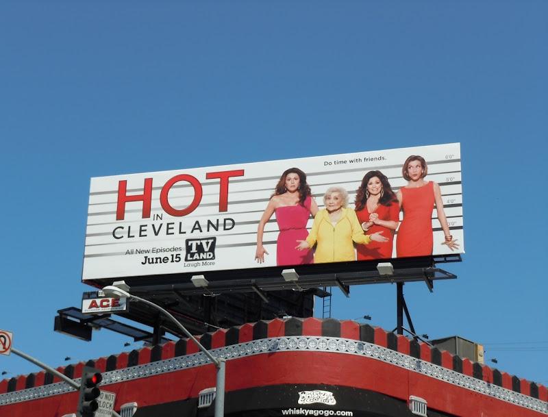 Hot in Cleveland TV billboard