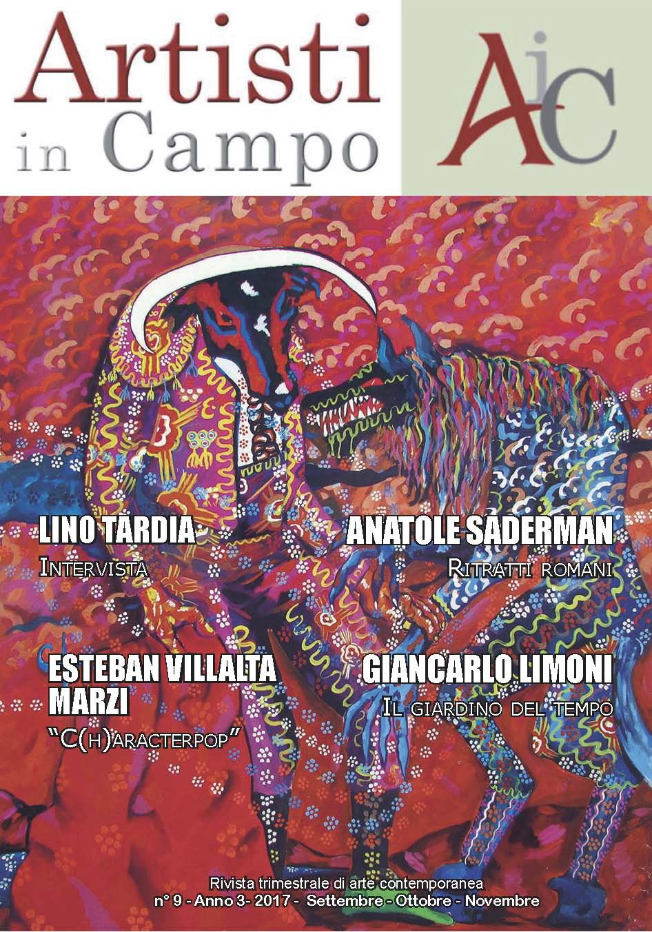artisti in Campo 9-numero - settembre