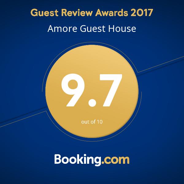 Оценка от гостей отеля для 2017 г.