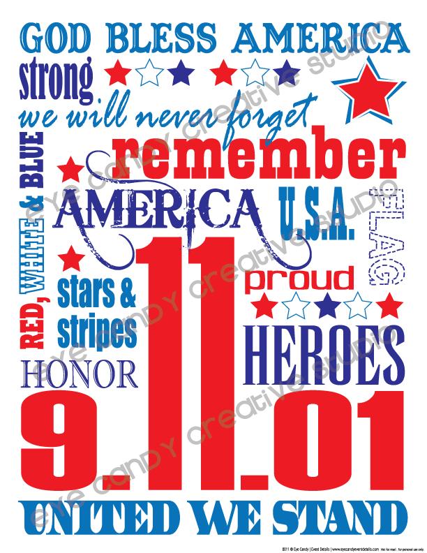 9/11 subway art, free 9/11 art, united we stand, america, heroes, 9-11