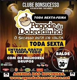 CLUBE BONSUCESSO - PAGODE DA DOBRADINHA.