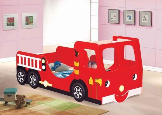 Dormitorios: Camas en forma de coches para niños | Decoración y ...