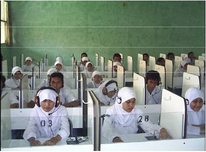 Laboratorium bahasa SMA Negeri Jumapolo Karanganyar