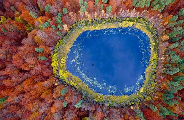Озеро в Польской Померании