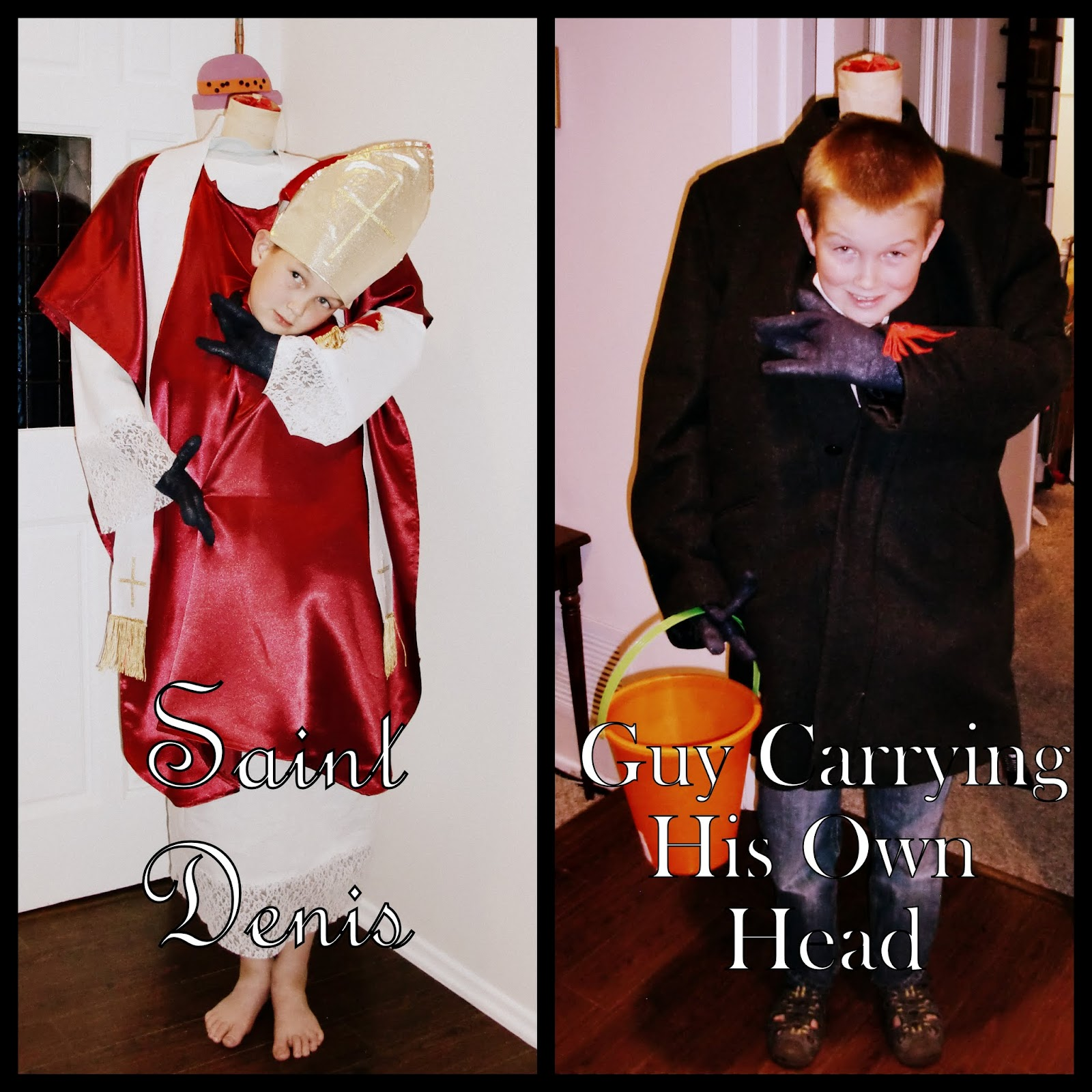 catholic all year: costumes for all saints day and halloween: one