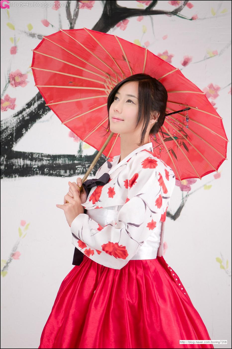 xxx nude girls: Kim Ha Yul in Hanbok