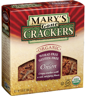 Mary's Gone Crackers, Onion Crackers