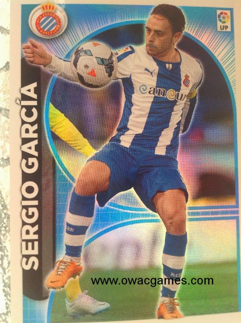 Liga ESTE 2014-15 Atención a Sergio Garcia