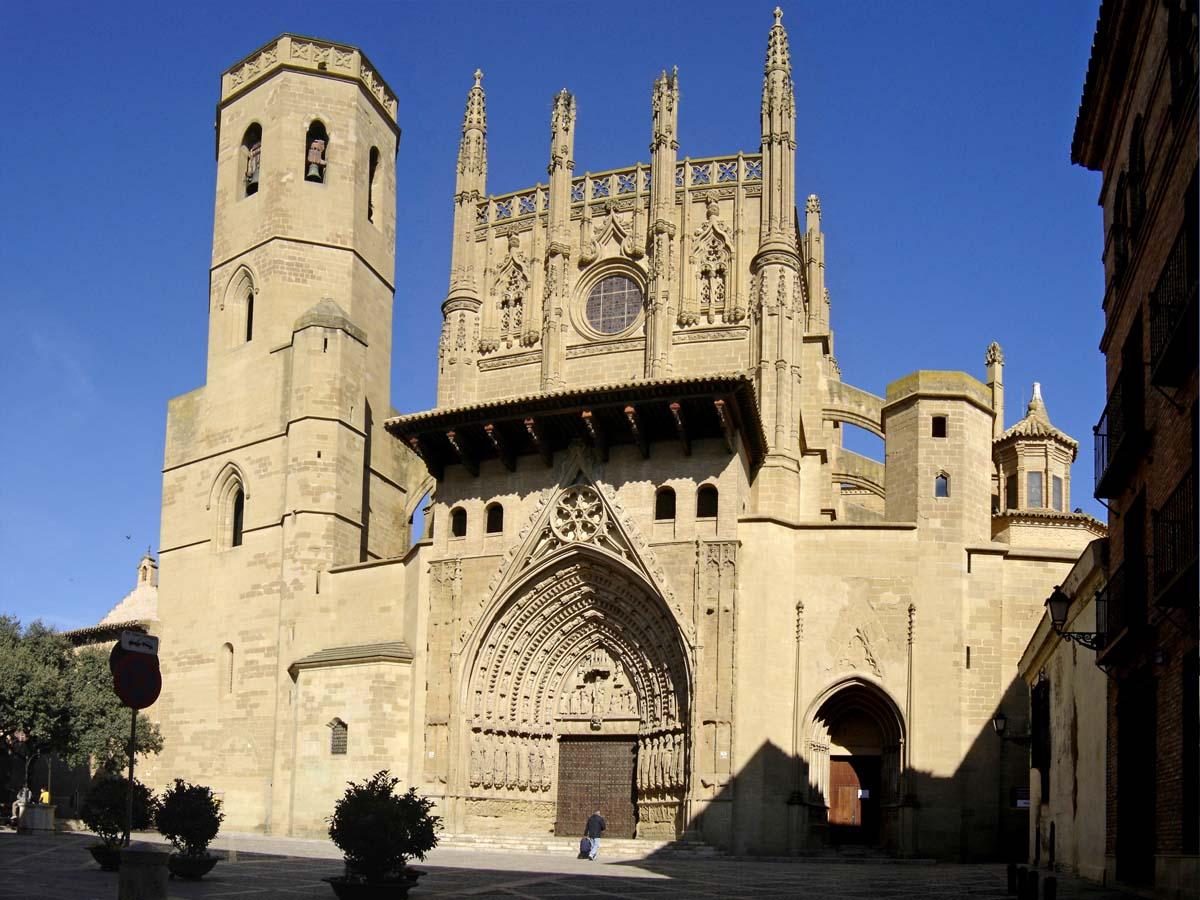 Huesca Spain  city images : ARTE: HUESCA en FIESTAS: Catedral gótica,Basílica de San Lorenzo ...