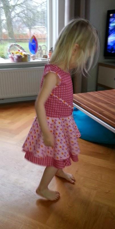 Walk away dress voor peuter