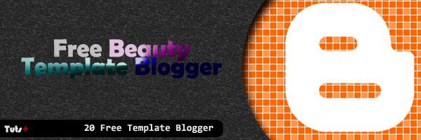 20 Beauty Free Blogger Templates