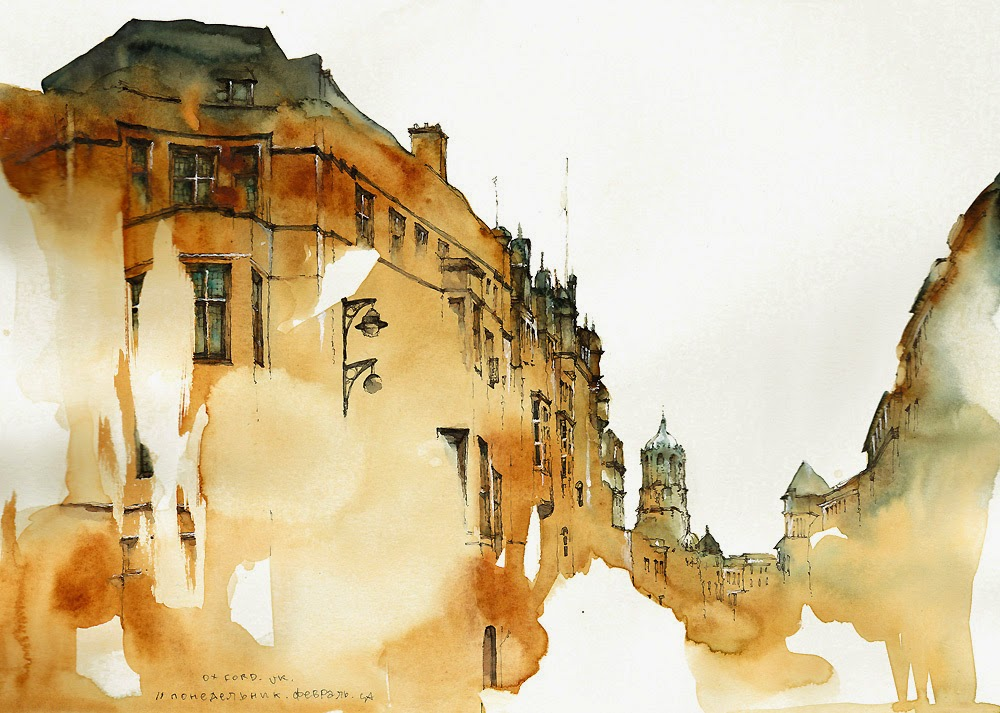 18-UK-London-Oxford-Street-Sunga-Park-Surreal-Fantasy-of-Dream-Architectural-Paintings-www-designstack-co