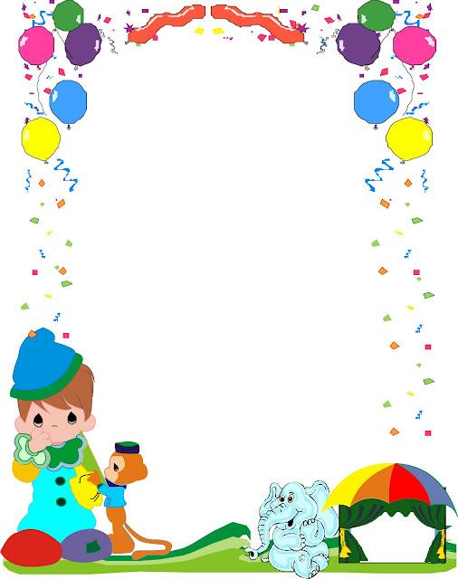 Bordes infantiles para niños para word - Imagui