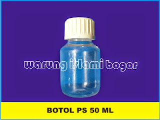 Botol PET PS 50 ml Bening