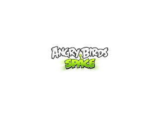 Angry Birds Space Logo HD Wallpaper