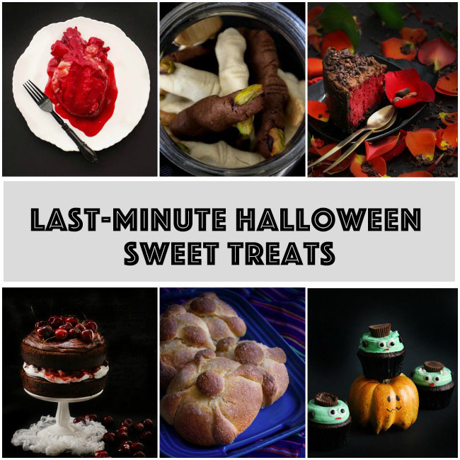 Last-Minute Halloween Sweet Treats