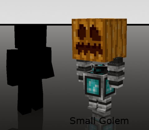 Mo' Creatures Mini golems Minecraft mod