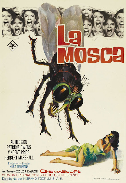 The Fly 1958, poster