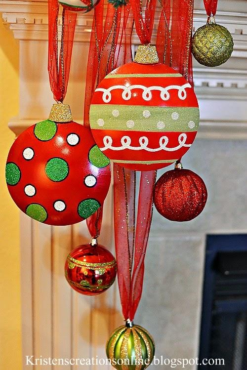 Kristen 39 s creations whimsical christmas mantel 2013 for Whimsical decor