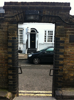 Steps between Ennismore Street and Rutland Street, London SW7