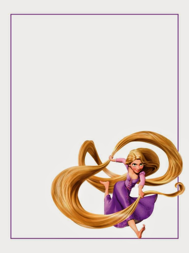 Cuaderno de Rapunzel para Imprimir Gratis. | Ideas y material gratis