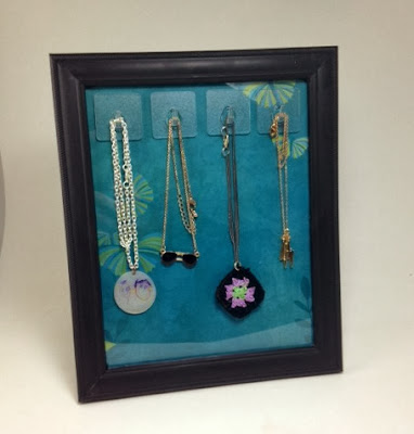 Picture Frame Necklace Holder