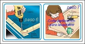 Productos maderables de cuale como instalar una cubierta for Lavaplatos para esquinas