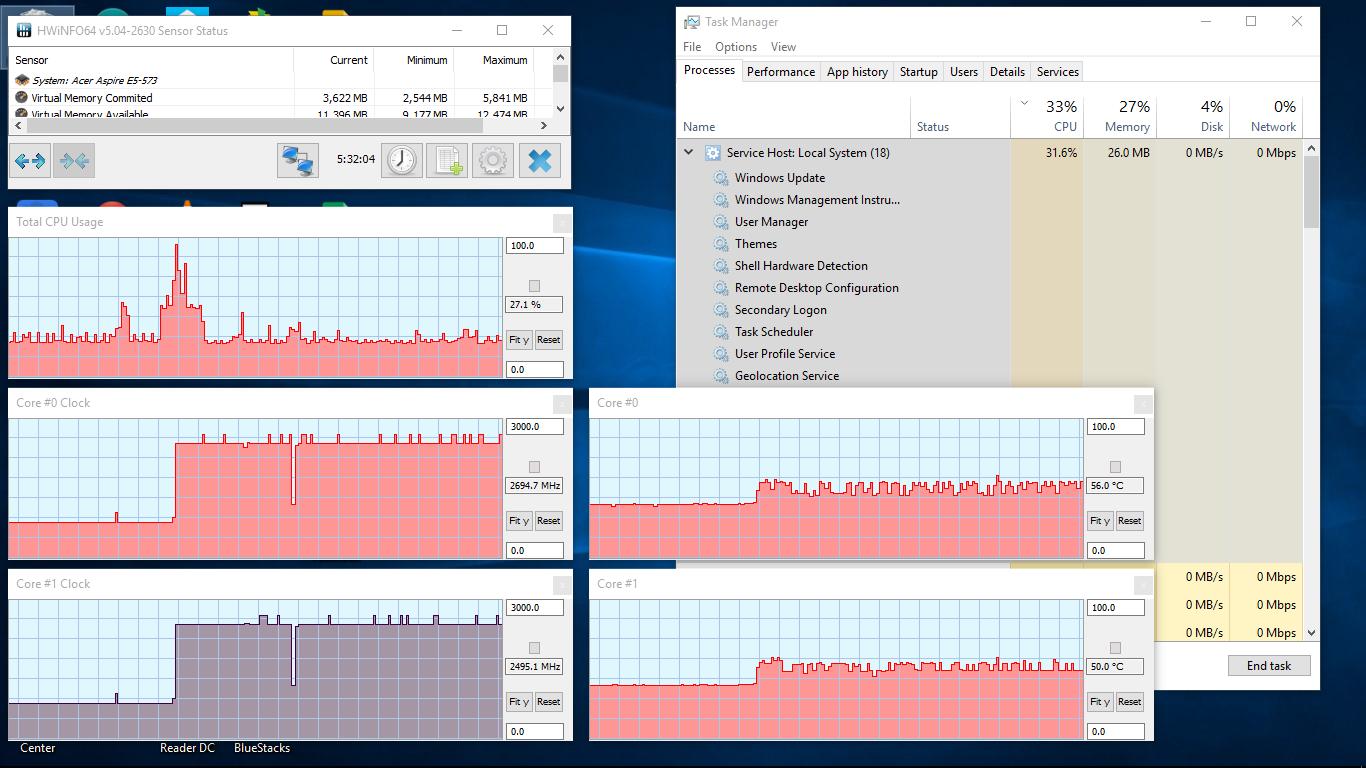 multiple svchost.exe running windows 10