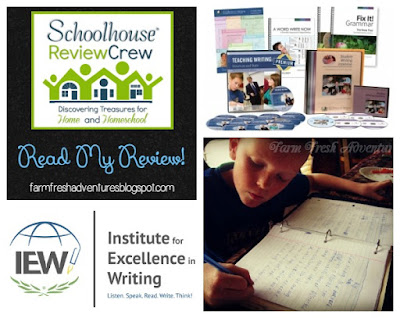 Institute for Excellence in Writing (IEW) Product Review
