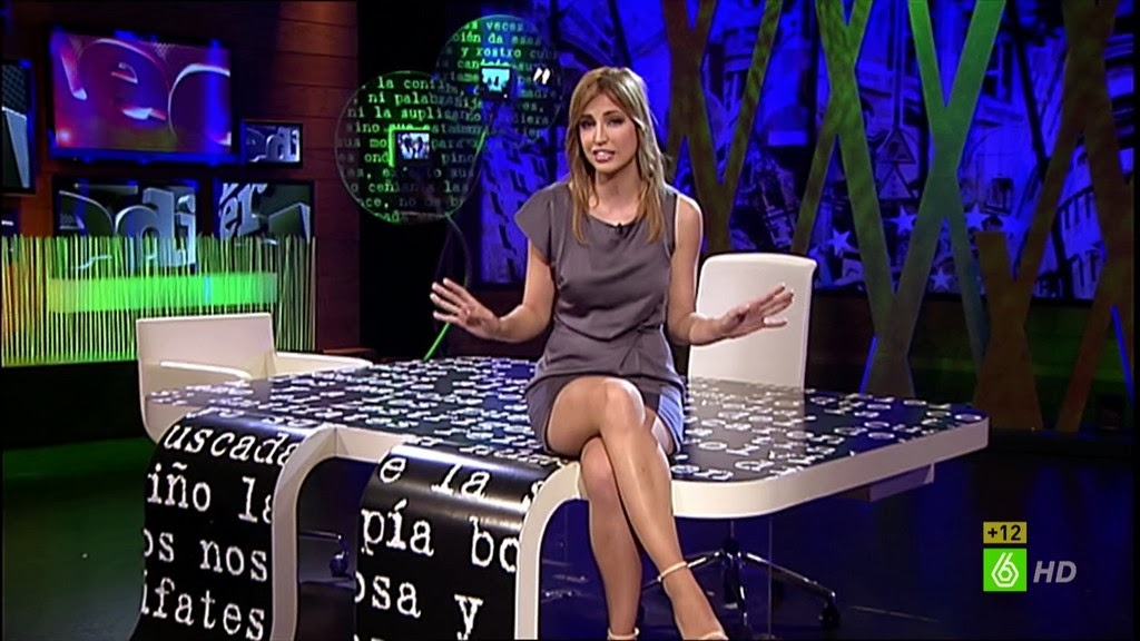 SANDRA SABATES, EL INTERMEDIO SUMMER TIME (27.08.13)