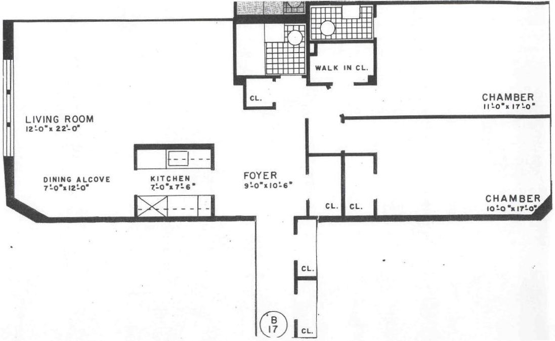 King apartments 2 bed 1 5 bath floor plans for 1 bed 1 5 bath