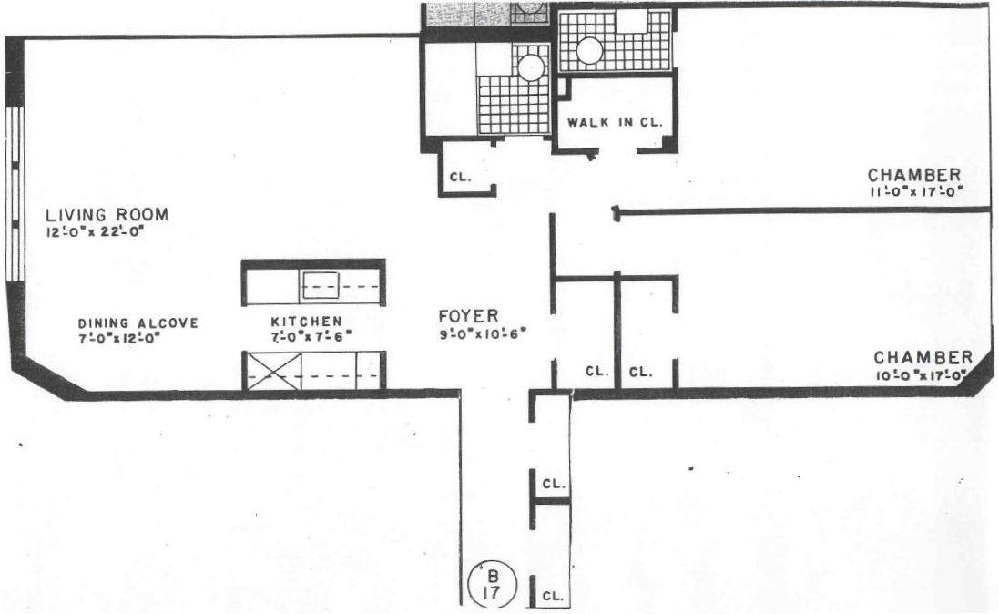 King edward two bedrooms one full bathroom one half bathroom