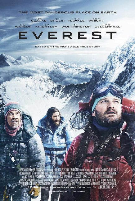 EVEREST (2015) movie review by Glen Tripollo