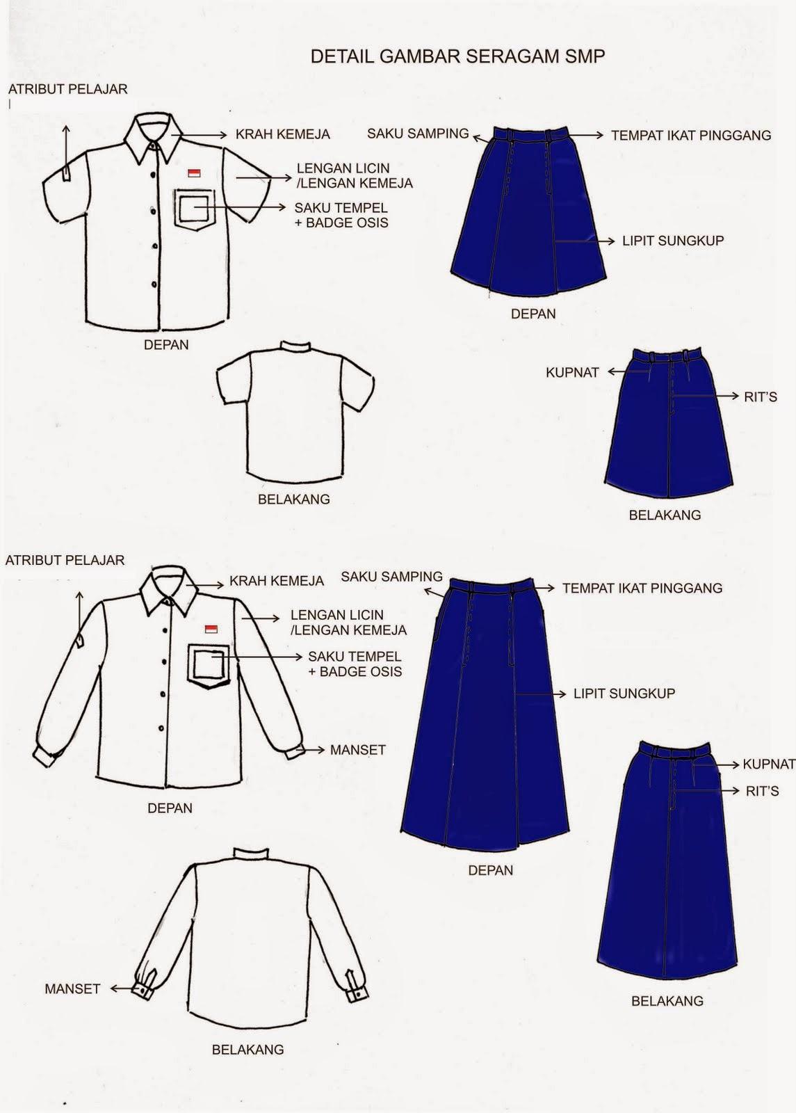 peraturan menteri pendidikan dan kebudayaan tentang seragam nasional, seragam sekolah dan seragam kepramukaan Permendikbud Nomor 45 Tahun 2014
