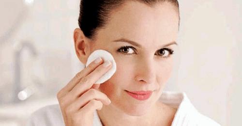 como limpiarse el rostro del borrador optico