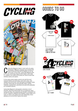 CENTURY - CYCLING ASIA SHIRTS