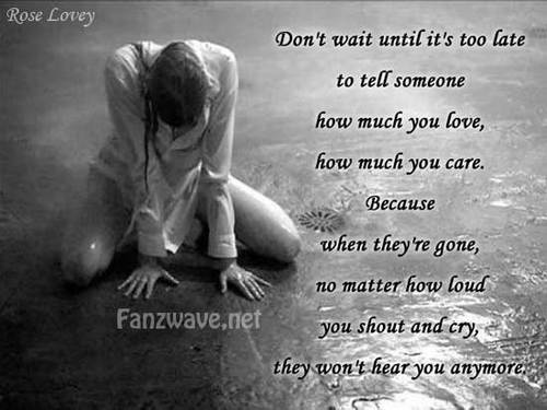 I Love You Quotes Sad : Sad Quotes