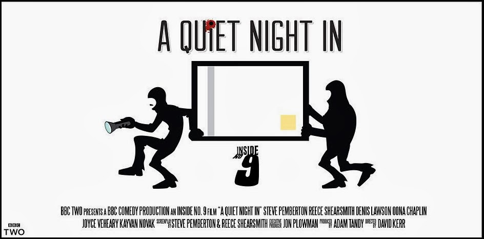 Inside No 9 - A Quiet NIght In poster - by Reece Shearsmith and Steve Pemberton