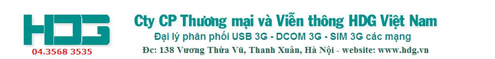 Dcom3g - Dcom 3g giá rẻ nhất Việt Nam
