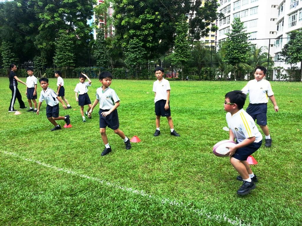 Introduction to tag rugby north vista primary school 8 for Vista pri