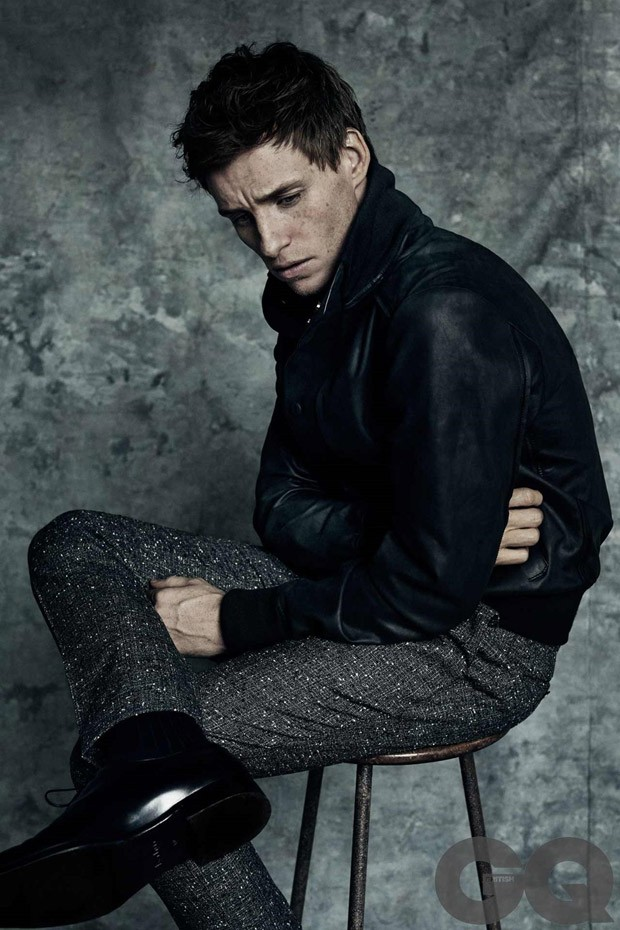 Eddie Redmayne in GQ Magazine - Photo Eddie Redmayne 2016