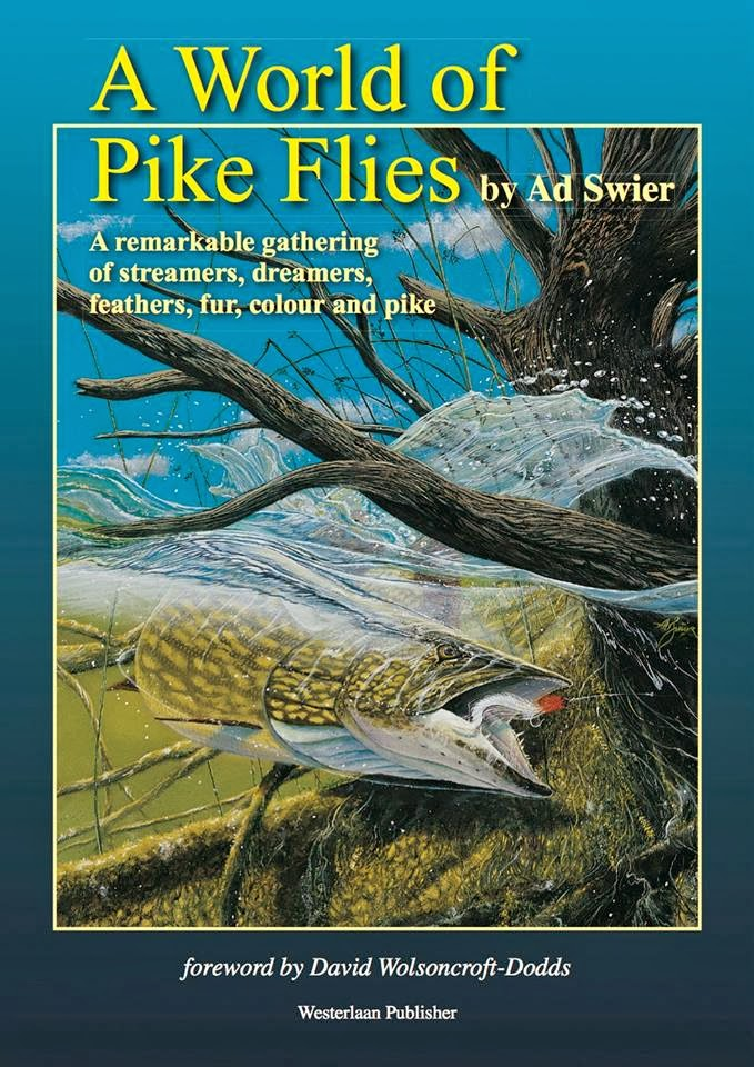 A World of Pike Flies le nouveau livre de Mr Ad Swier